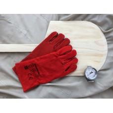 Gave 4 - Pizzaspade, handsker, termometer