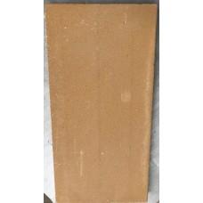 Ildfast sten: 50 x 25 x 3 cm