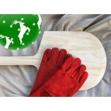 Julegave 2 - Pizzaspade + handsker