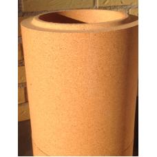 Ildfast rør: længde 20 cm