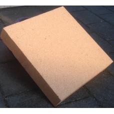 Ildfast sten: 30 x 30 x 5 cm